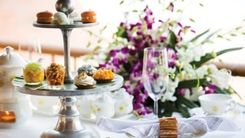 Range of sweet treats for a High Tea