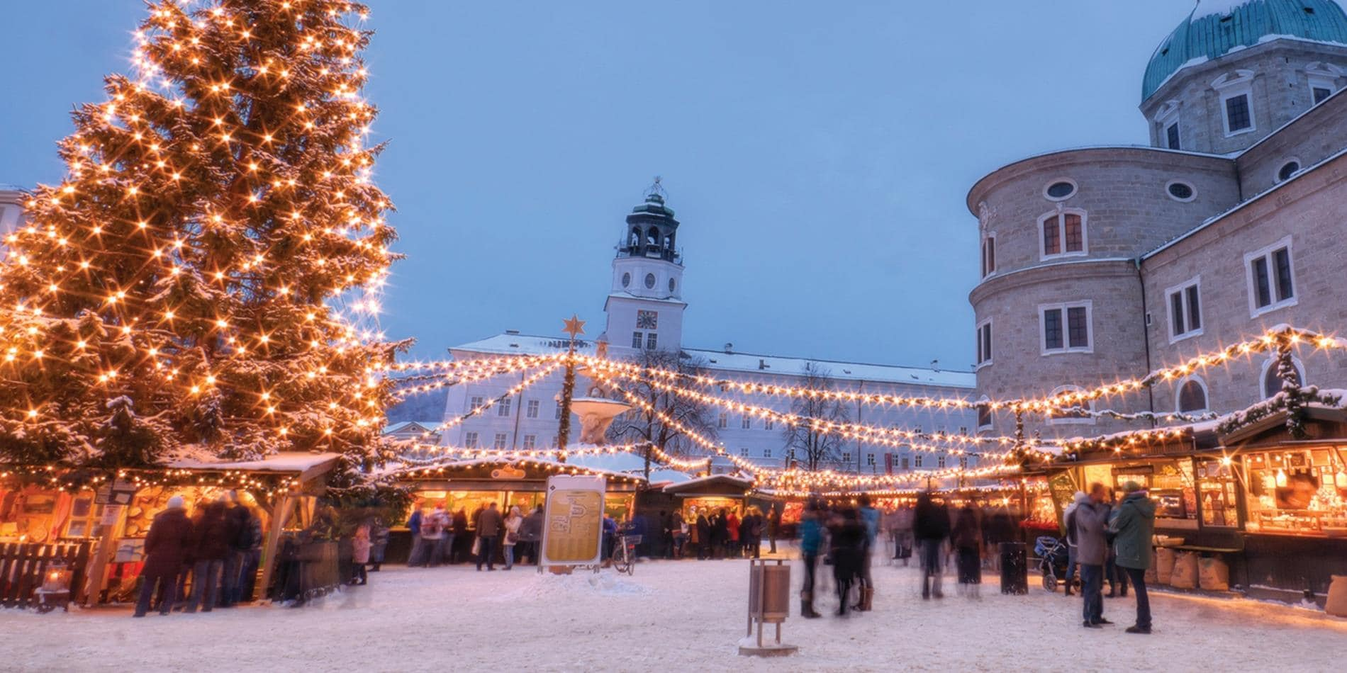 Salzburg Christmas Market Map.10 Day Magical Christmas Markets Land Journey Vienna To
