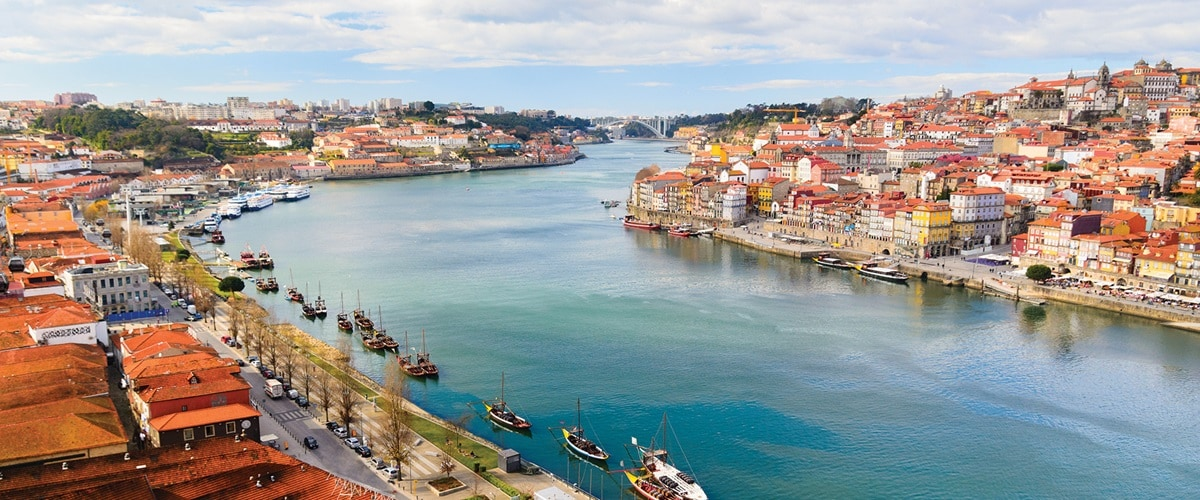 Porto and Douro river, Portugal