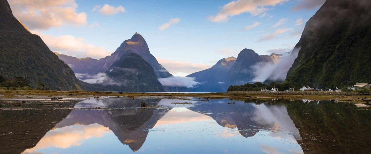 View of Milford Sound, New Zealand