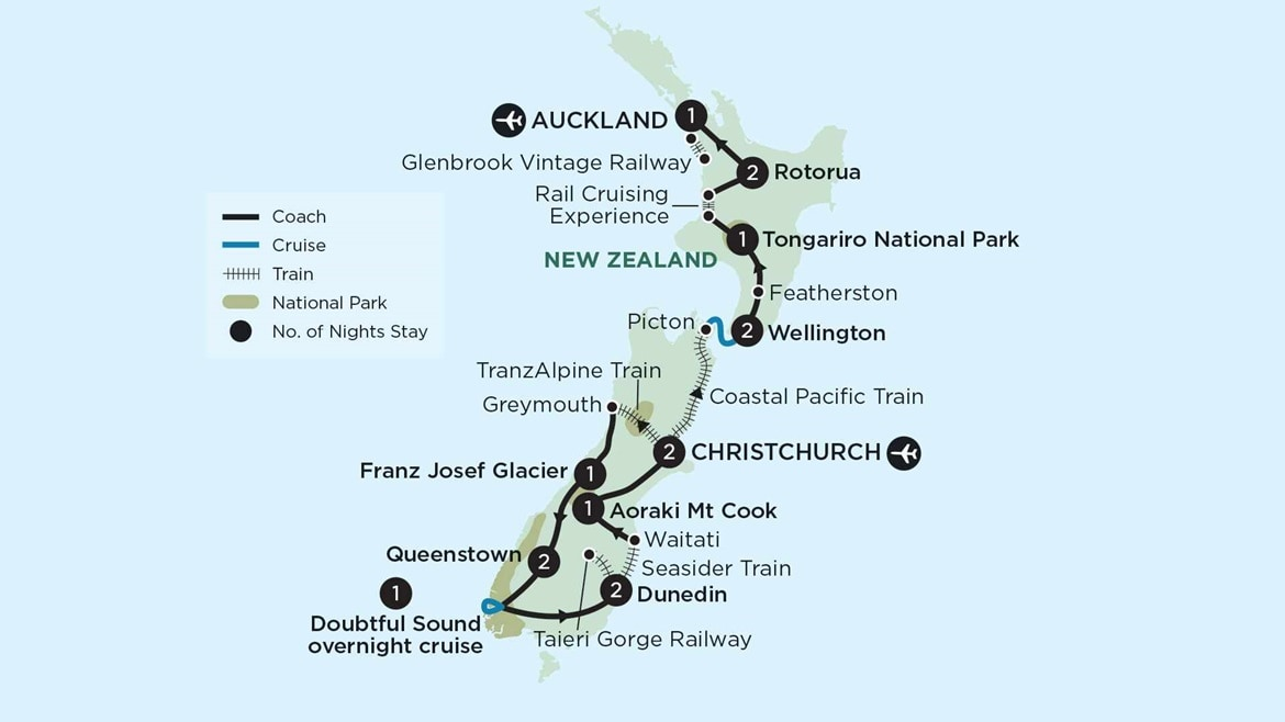 New Zealand Map NRR16 2020/21