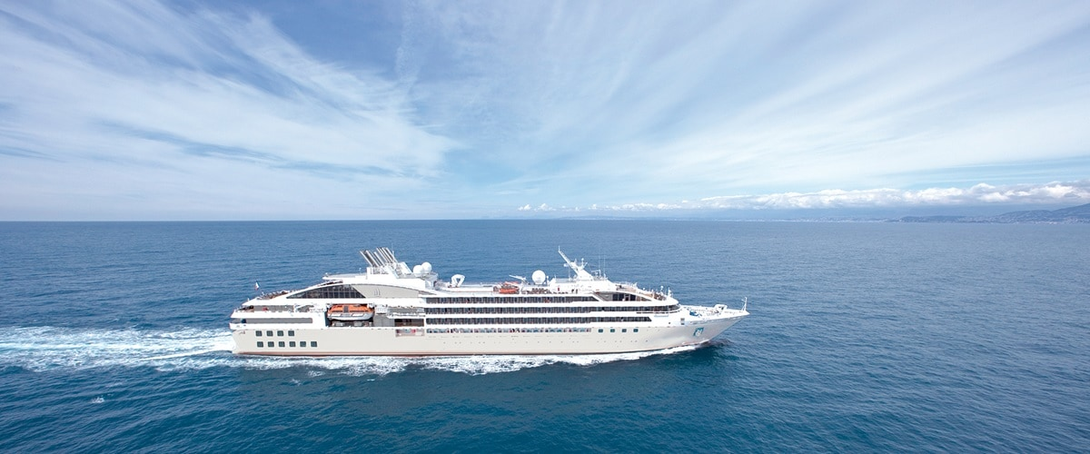 Explore South America aboard Le Soleal.